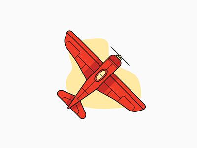 Airplane Illustration vector sky flying stocks trade api airplane