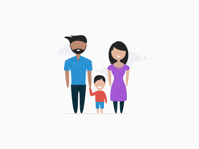 Family mother father parents child indian family family insurance