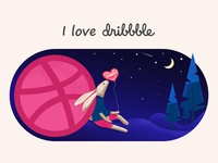 Hello dribbble! Thank @Seven_Games