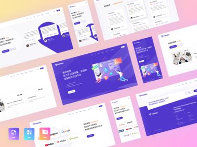 Web - Purple theme