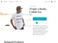 Tropic surf product full view