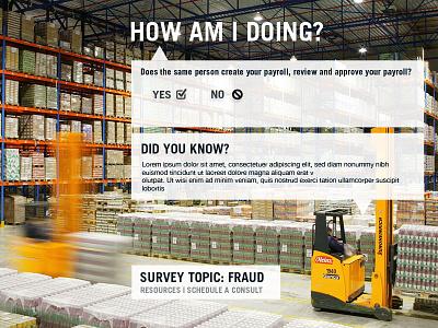 Survey Concept survey web flat design
