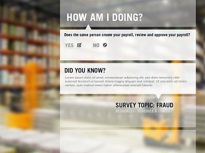 Survey Concept 2 web survey flat design