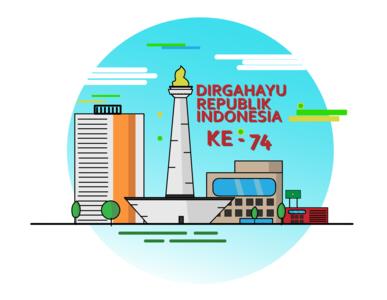 HAPPY INDEPENDENCE DAY INDONESIA (DIRGAHAYU REPUBLIK INDONESIA)