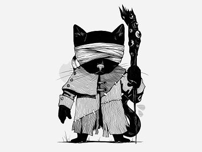 KenshiCat — Black team uidesign illustrator illustraion horror art graphicdesign game art horror digitaldesign development art concept 2d art 2d