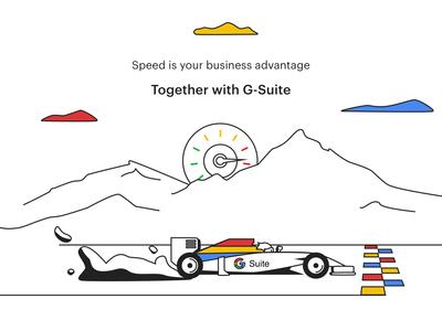 G-suite Illustration speed