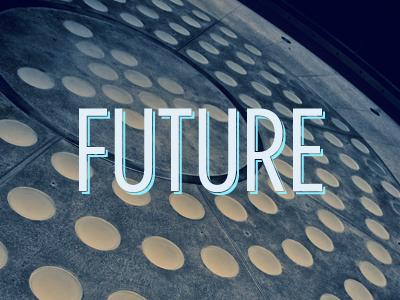 Future future gotham condensed shadow typography daniele delgrosso dandelgrosso