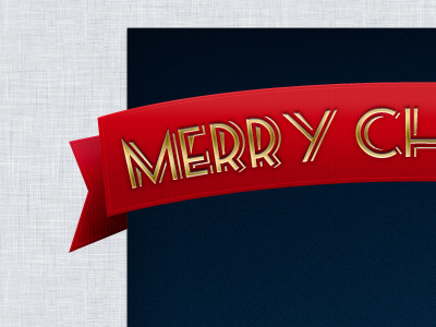 Merry Christmas merry christmas graphic red holidays card salutation gold blue linen