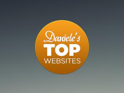 Top Websites Logo top websites logo sun haze blue yellow orange gotham aka dora