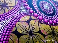 Abstract Dot Schilderij Inner Compass Tessa Smits Detail1