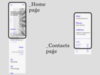 Vel studio new website smartphone presentation. mobile mobilefirst smartphone website typography webdesign ui ux
