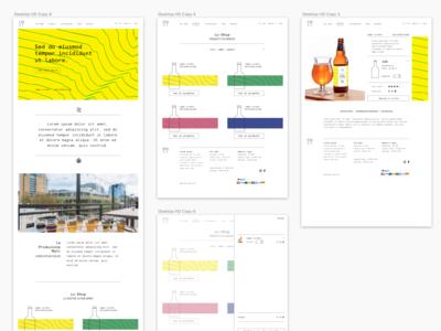 Mall beer ecommerce website concept graphic design ux webdesign website ecommerce