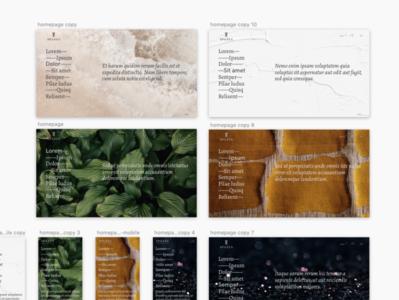 Ecommerce homepage layout ux ecommerce website webdesign website concept