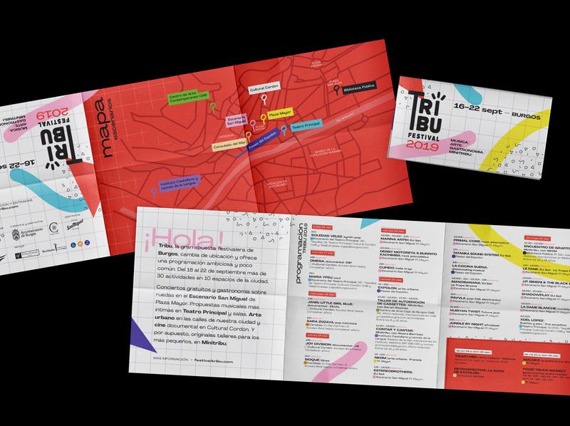 Brochure Tribu Festival spain fest music music festival festival