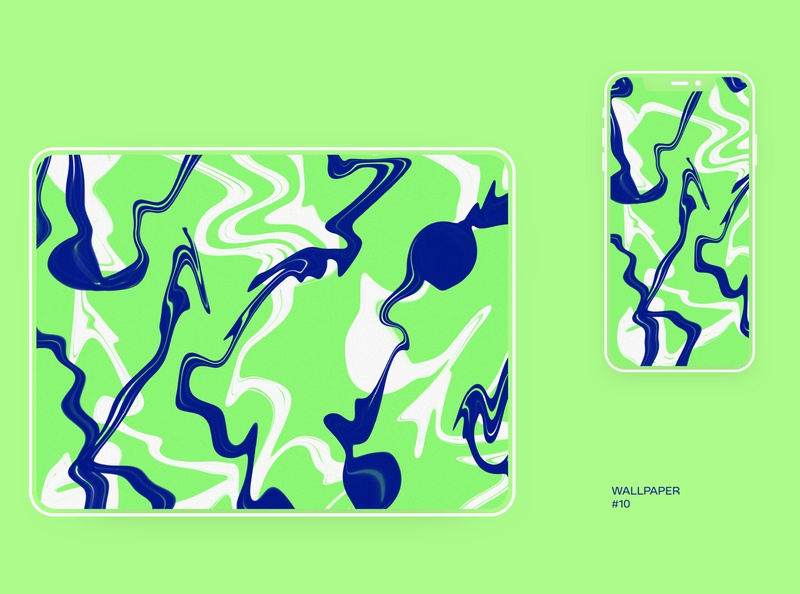 Set of free wallpapers (wallpaper #10) illustration procreate wallpaper freebie free download