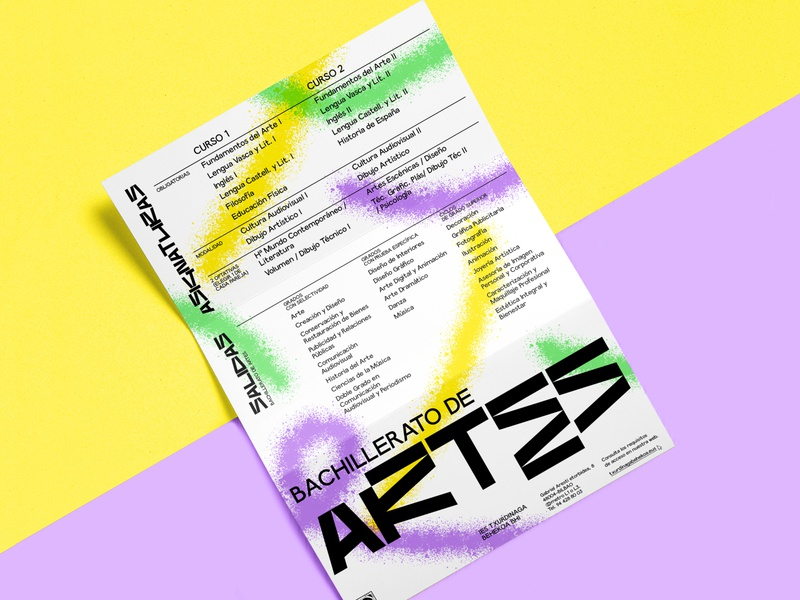 Brochure Proposal art design spray brochure design