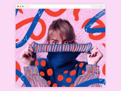 Illustrated picture color pallette designer procreate illustration