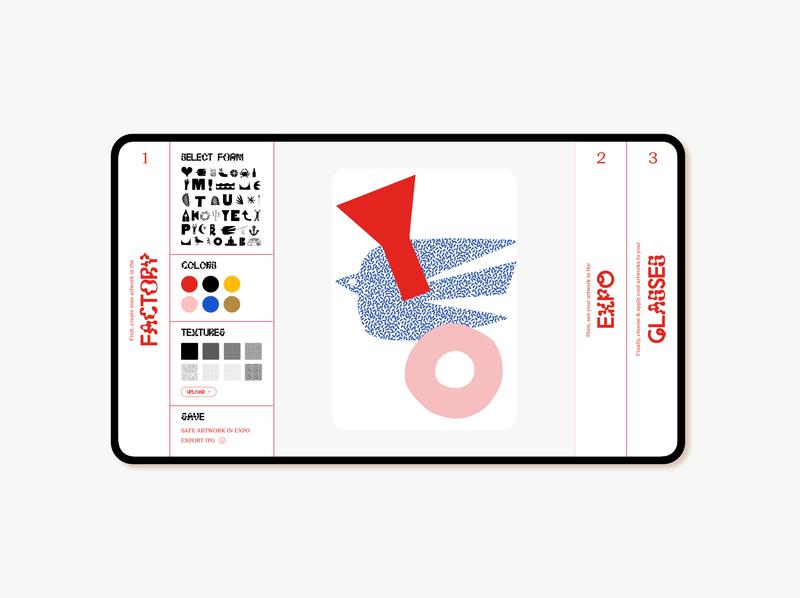Web-App proposal - Student work campaign web ui  ux website interface webdesign