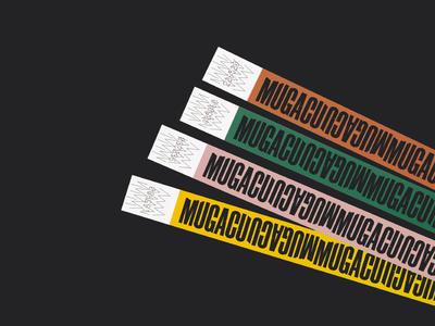Festival bracelets  - Mugacu Fest