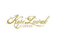 Kopi Luwak Coffee Logo Concept