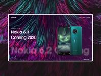Nokia phone Website design concept
