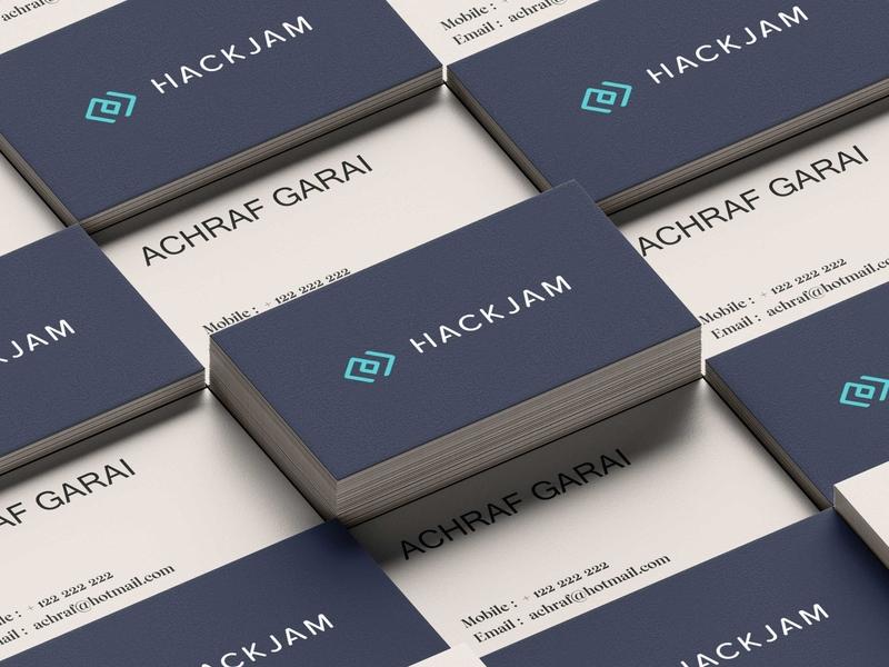 Hackjam marketing rebrand brand design progrmming code tech brand identity logo design
