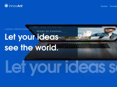InnovAnt homepage exploration