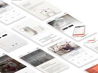 Glue Home website - mobile