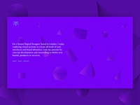 Home page - personal website