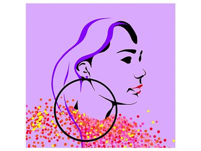 Digital illustration digital design humans color illustration