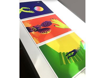 Giclee Printing artwork digital printmaking color surrealism illustration