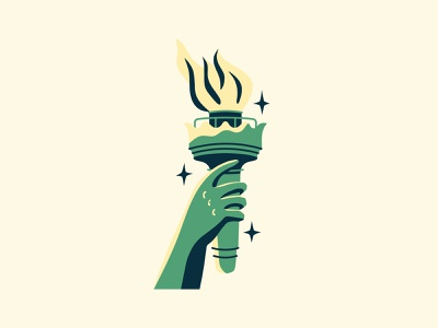 ACLU 100 Years nyc statue of liberty fire torch liberty aclu