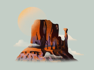 Texturesize - Practice west monument valley texture