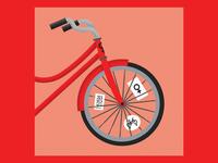 Goodnewspaper Illustration - Bike