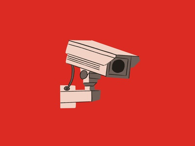 INKTOBER 08 - CAMERA cctv camera csinktober inktober