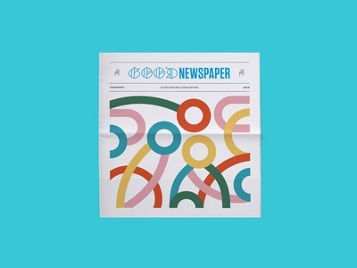 Issue 06 of The Goodnewspaper happy fun good good good goodnewspaper good news