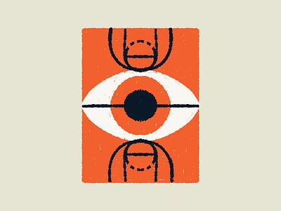 Basketball - Court sport sports orange court eye basketball