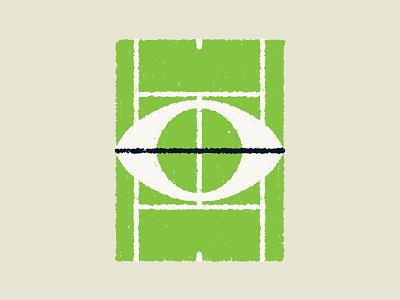 Tennis - Court sports green tennis