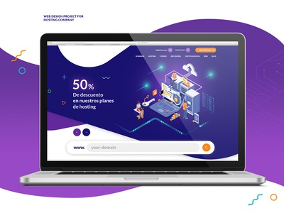 Web Design project for hosting company
