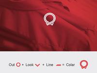 Outlookline - Logo Design manufacturer business textile flat minimal illustration vector branding design logo