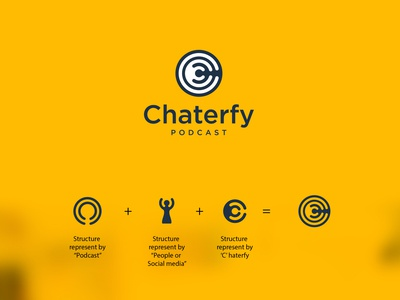 Chaterfy - Product Design atomgroups logo design social app podcasts ui design product design branding