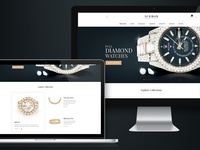 Icebox Index Presentation luxury brand watches diamond responsive product design landing page website manufacturer business design ux ui branding atomgroups