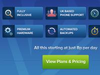 Premium value web hosting