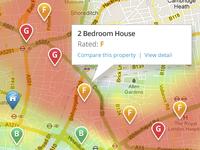 Property Rating Heat Map