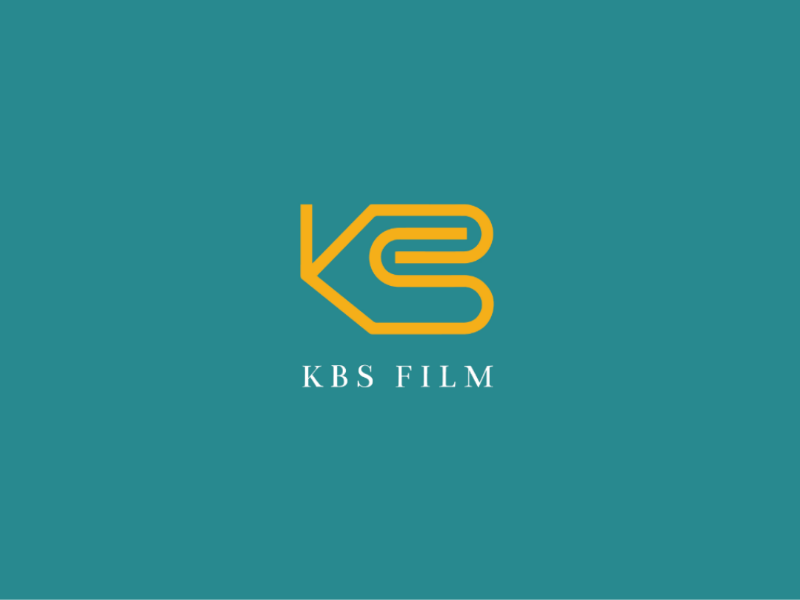 KBS Film logo film compnany business adobe illustrator vector design branding monogram logo