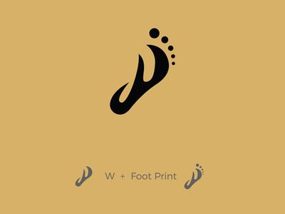 W + Footprint 👣