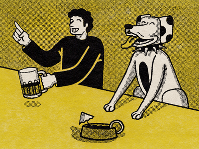 dogs and beer