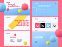Branding for Laurus Agency