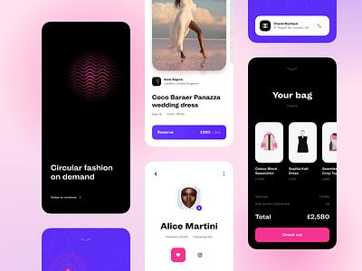 Fashion Marketplace marketplace fashion platform app design