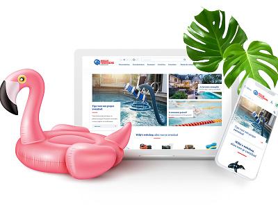 Swimmingpools // webshop ecommerce drupal development sketch ux responsive front end design ux  ui ui